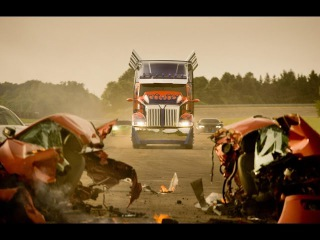 Transformers Age of Extinction Optimus prime is back exclusive scene from the movie VEX