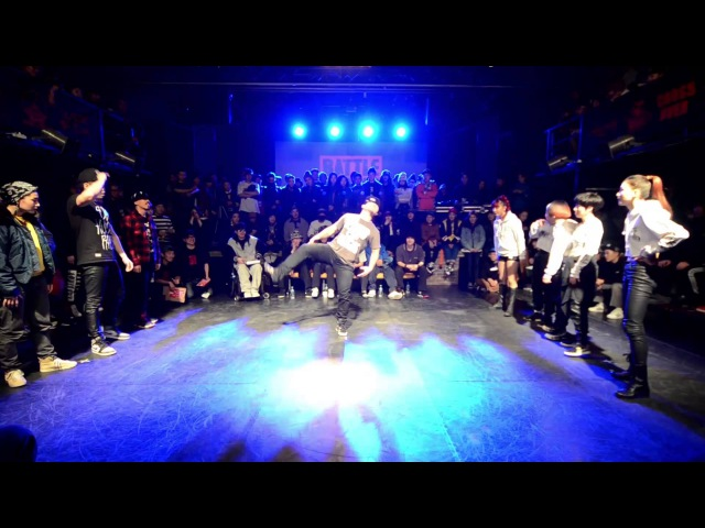 Monster woo fam vs Soul sisterz Round of sixteen @Battle is over 2015