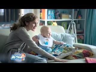 Творожки Агуша. ТВ ролик 2015