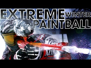 Extreme Winter Paintball Training
