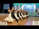 Vera RUS 2015 European STD Formation DanceSport Total