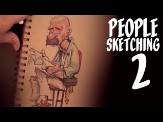 Overcoming excuses - people sketching - episode 2