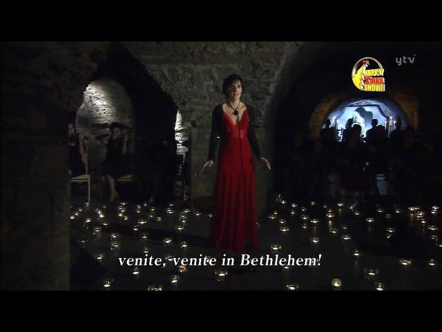 Enya Adeste Fideles performing рождественская песня