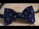 Как сделать галстук-бабочку в подарок на 23 февраля своими руками? Вытворяшки