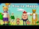 If You re Happy and You Know it Clap Your Hands Song 3D Animation Rhymes for Children