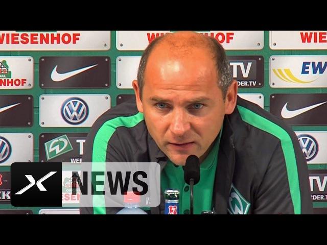 Viktor Skripnik enttäuscht So schwach wie nie   Werder Bremen - Bayer 04 Leverkusen 03