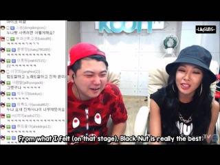[Видео] Jessi - Mentions Black Nut & Song Mino (SMTM4) ENG SUB 150915