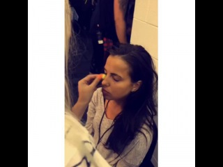 Smithers x Payno on Instagram: Lottie doing Sophia's make up back stage at the concert today  #sophiasmith #lottietomlinson #sophiam