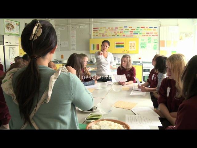 Loescher English Corner 2 6 Schools in Britain with subtitles