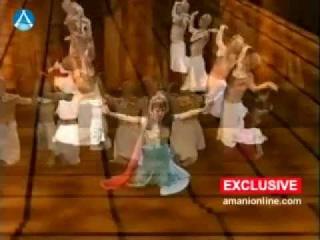 AMANI Lebanese star dancer In Nefertiti