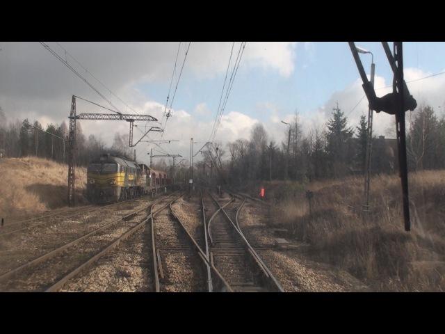 Cabview EN57 Oświęcim Trzebinia sound 05 02 2016
