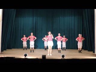 """Костюкова Мария и народный ансамбль эстрадного танца Изабель - """"Эй,моряк!"""""""
