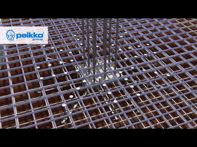 Peikko PSB a Transverse Reinforcement System for Cast in situ and Precast Concrete Structures
