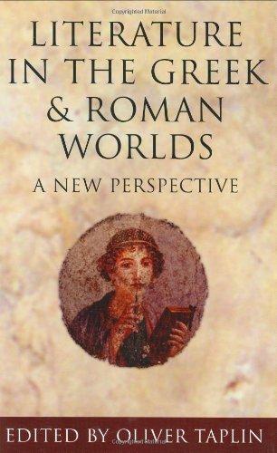 Literature in greek and roman worlds