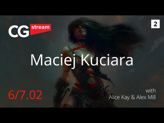 CG Stream Maciej Kuciara Part 2