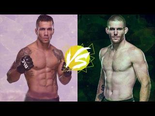 Joaquim Silva vs. Andrew Holbrook - ULTIMATE FIGHTER 23 FINALE [Joaquim Silva Training]