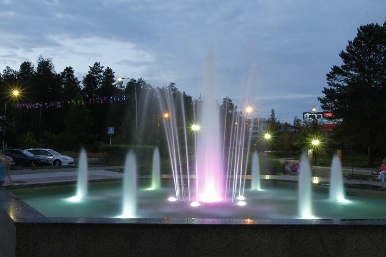 саянск фонтан фото