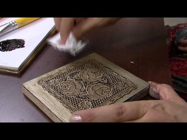 Mulher.com -21032016 - Metalização envelhecida sobre toalha plástica - Celia Bonomi PT2