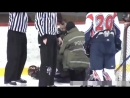 QJAA League Olivier Marcotte vs Linesman Police