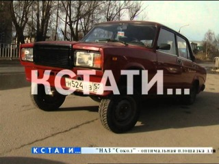 AzeLow-стайл по-нижегородски - вздыбленные автомобили появились на дорогах