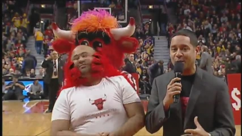 The Livest Mascot In The NBA Best Of Benny The Bull Compilation