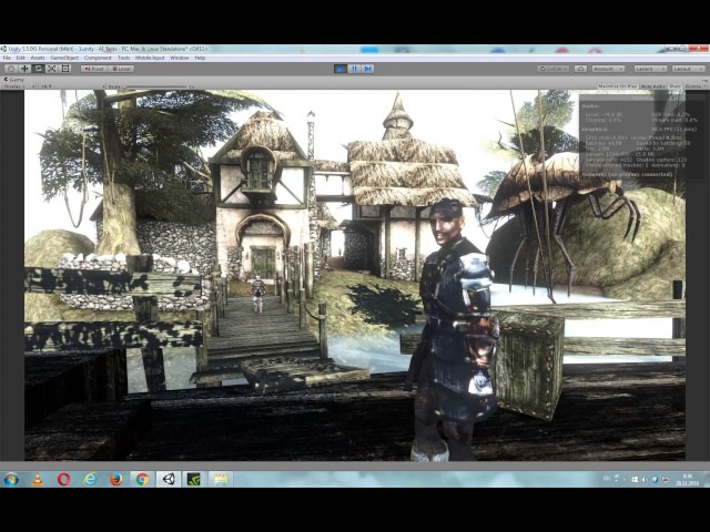 Seyda Nean from Morrowind in Unity