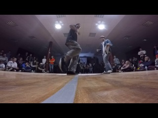 Funky man 9   Popping  final  Pino4et  vs Bambawayatuna