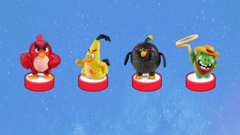 👑 ANGRY BIRDS MOVIE Kinder Surprise Toys Энгри Бёрдс В Кино Киндер Сюрприз на русском языке
