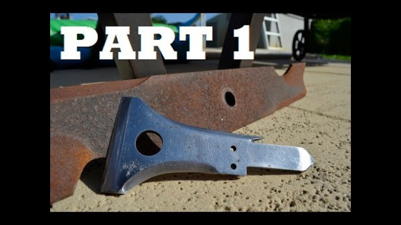 Tomahawk From Lawn Mower Blade PART 1