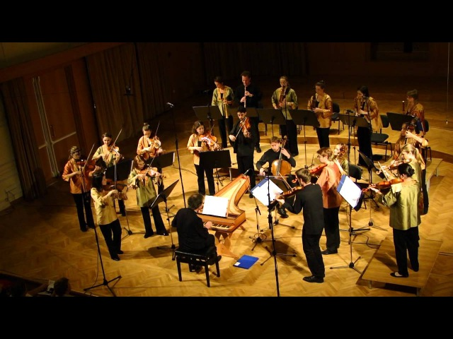 EUBO European Union Baroque Orchestra Ljubljana 2012
