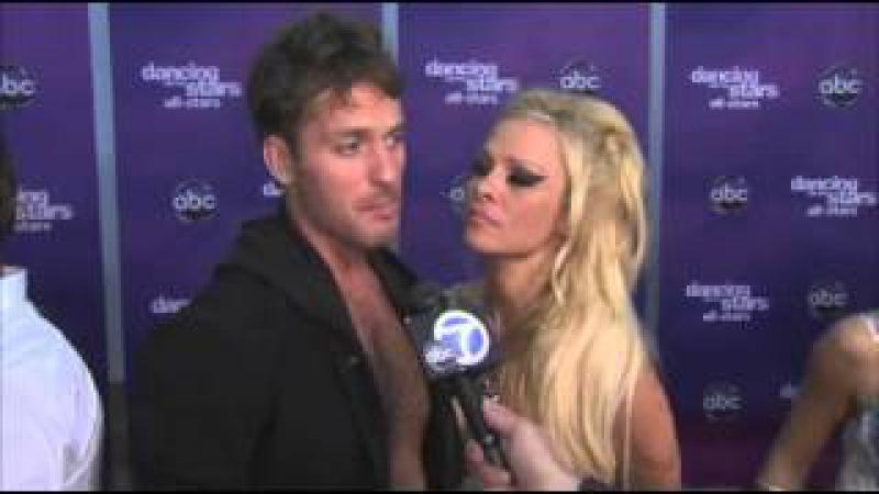 Pamela Anderson and Tristan MacManus on emotional reaction Video