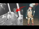 10 КЛОУНОВ УБИЙЦ СНЯТЫХ НА КАМЕРУ Creepy Killer Clown Sightings
