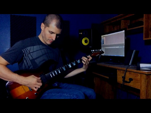 Twin Peaks Laura Palmer's Theme Electric Guitar Cover