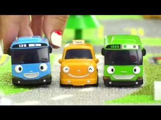 Мультики про машинки Автобус Тайо! Нури - спасатель! Игрушки из мультфильма