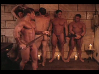 Gachimuchi sharpshooter knaked knights featuring anthony cappriati (playgirl & mens workout model)