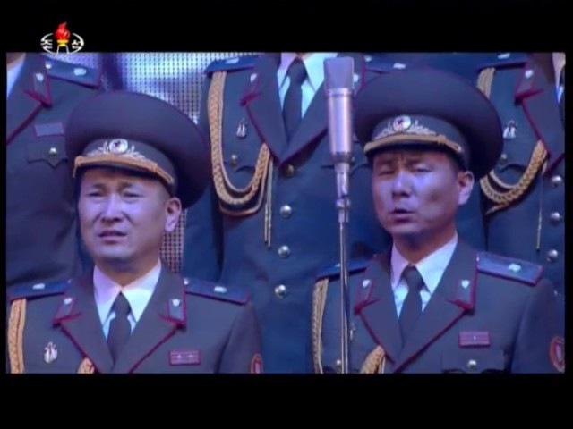 조선인민군창건 85돐경축 조선인민군협주단 음악무용종합공연