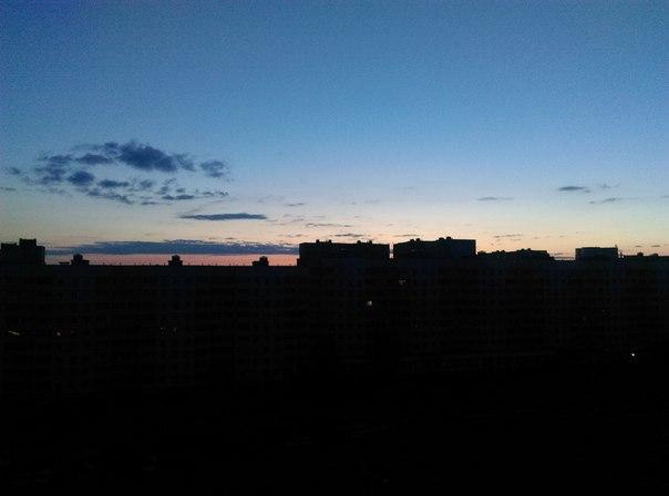 4 утра, 15 июня, рассвет - Притыцкого)))