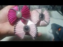 27 DIY Cara Membuat Bros Bowkis Sweet Bow 1 Bow Kipas Laco de Fita Cetim