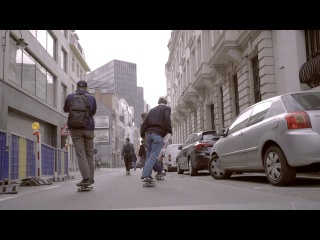 Denis Yuzefovich in Brussels for Levi's Skateboarding