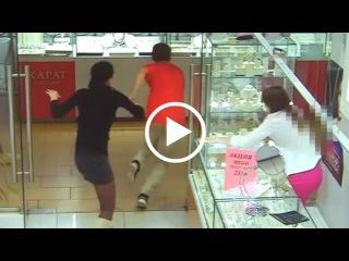 Курянин задержан по подозрению в серии грабежей из ювелирных магазинов