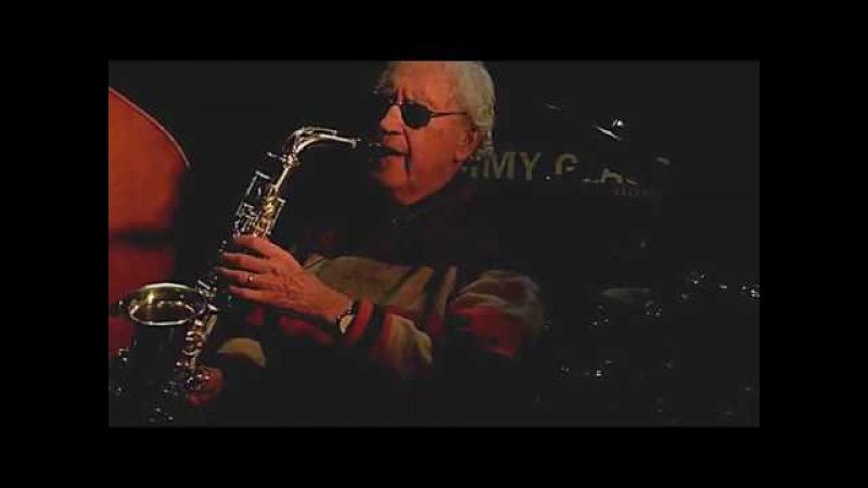 LEE KONITZ KARME TRIO plays 'Body and Soul' live at Jimmy Glass Jazz Bar 2016