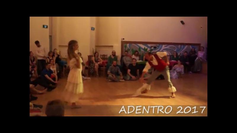 ADENTRO 2017 Ramon Salina and Julieta Brenna Zamba