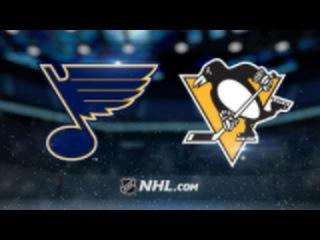 St. Louis Blues vs Pittsburgh Penguins NHL Game Recap