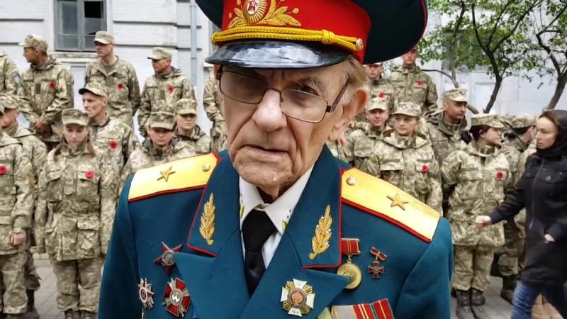 Смелый ветеран Великой Отечественной и тупая рогульская молодь