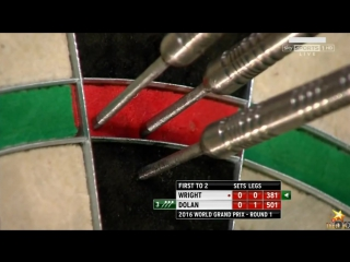 Peter Wright v Brendan Dolan (PDC World Grand Prix 2016 / Round 1)