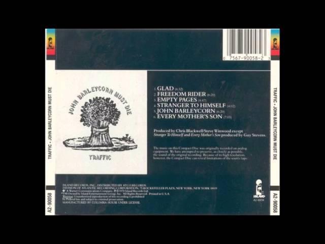 Traffic John Barleycorn Must Die 1970 Full Album