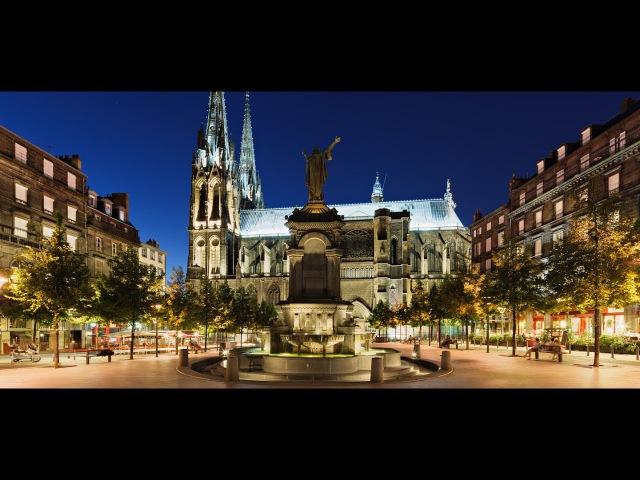Юг центральной части Франции Chamonix Lyon Clermont Ferrand 23 Konkin I