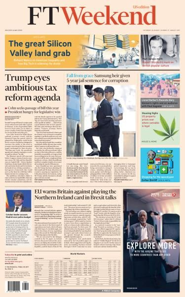 Financial Times USA 26 August 2017 FreeMags