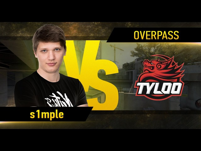 Na`Vi POV: s1mple Drop's 26 frags on TyLoo @ IEM Oakland 2016