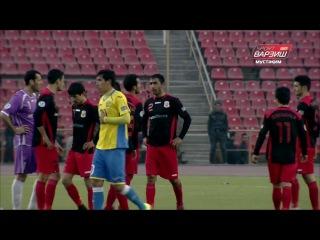 Кубок АФК 2017  Хосилот Таджикистан   Дордой Кыргызстан Голы матча